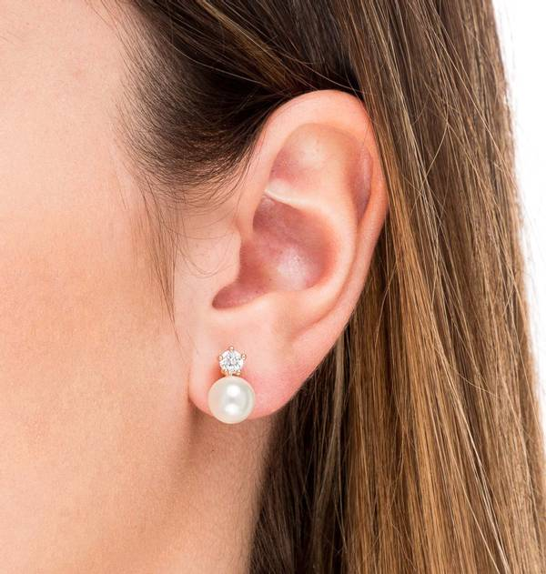 You and I Pearl Earrings